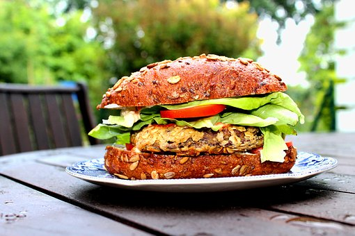 tempeh bean burger